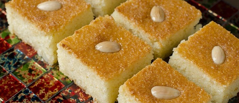طريقة عمل البسبوسة بالصور Food Middle Eastern Desserts Desserts