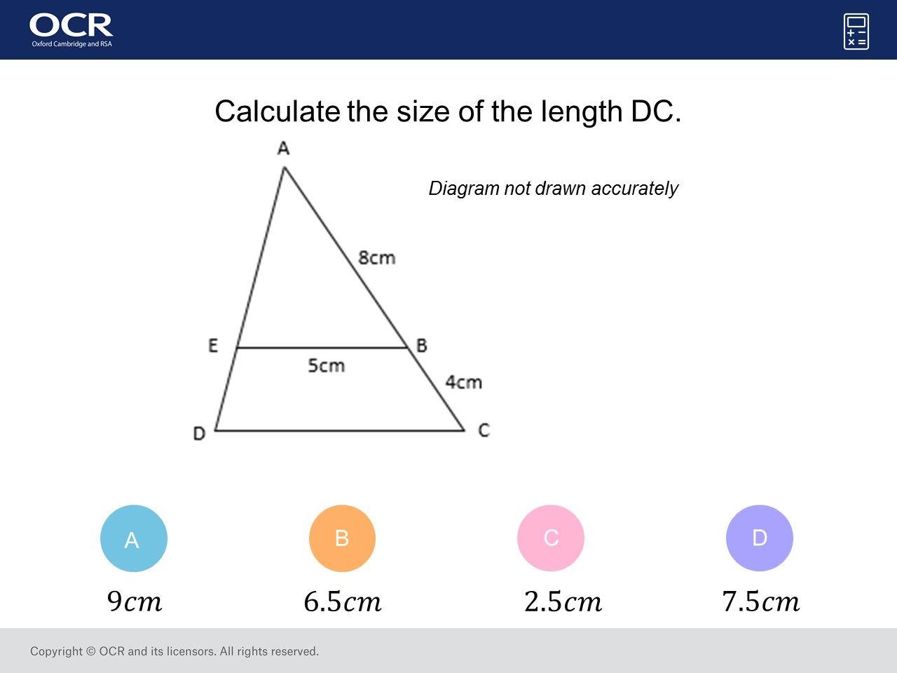 Similar Shapes Foundation Higher Gcse Maths Question Of The Week On Mr Barton Maths Gcse Math Gcse Maths Questions Gcse Questions [ 960 x 1280 Pixel ]