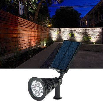 Premium Solar Powered Landscape Sensor Lights Outdoor Patio