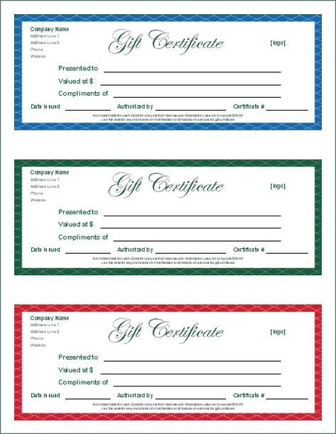 printable gift certificates This is another printable gift - gift certificate template word