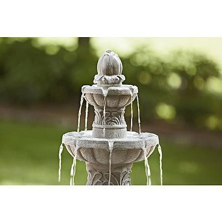 Essential Garden 3 Tier Fountain 1 Water Fountains Outdoor