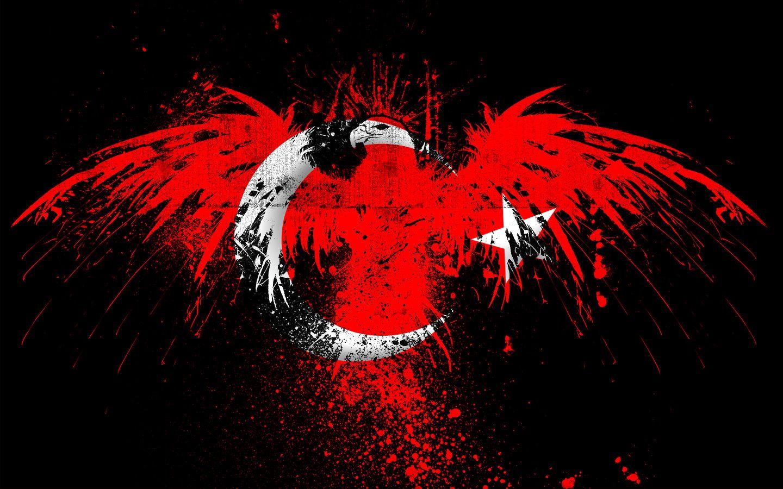 Hareketli Masaüstü Arka Plan Türk Bayrağı Bayraklarımız