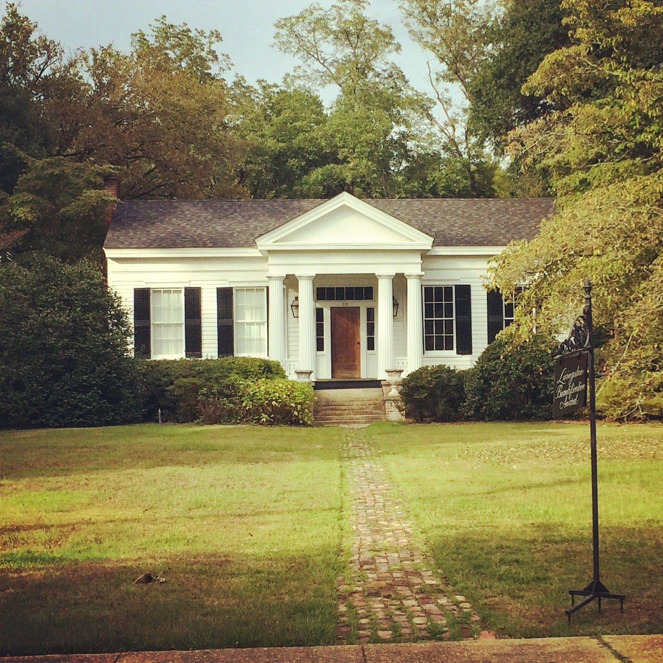 Perfect Little Greek Revival Home Livingston Alabama In