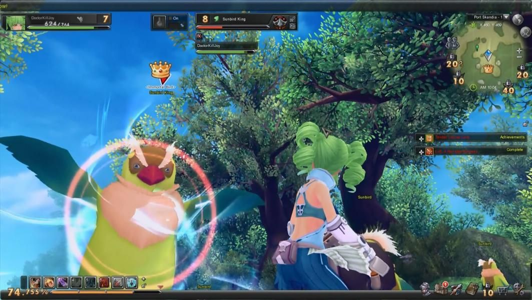 Aura kingdom is a 3d fantasy free to play role playing