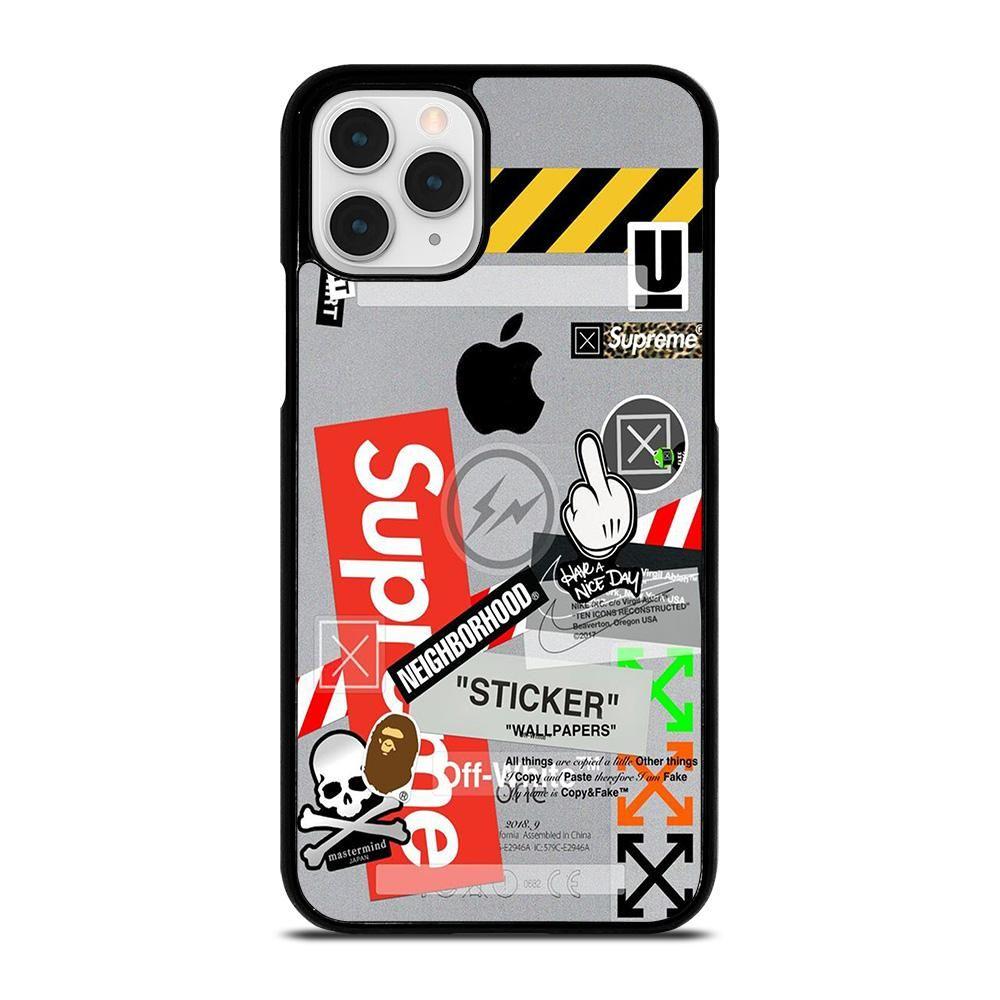 OFF WHITE SUPREME iPhone 11 Pro Case Cover Vendor: Casesummer Type ...