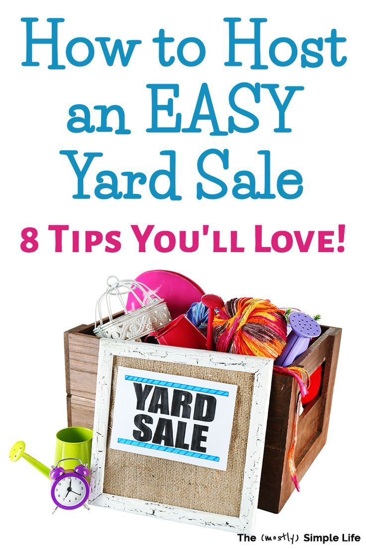 how to price stuff for a yard sale