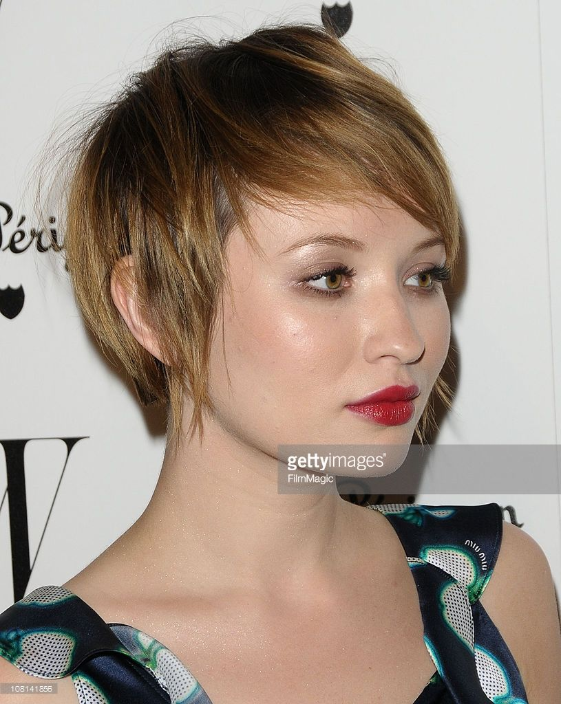 Actress Emily Browning attends the W Magazine Gold