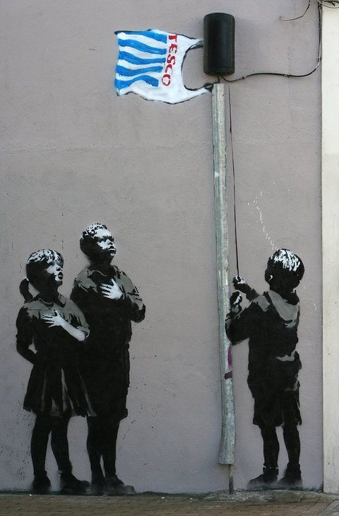 The Most Iconic Banksy Works Of All Time #banksyart