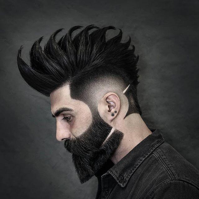 45 Moderne Manner Frisuren Ubergang Herren Frisuren Mit Bart Frisur Und Bart Coole Manner Frisuren