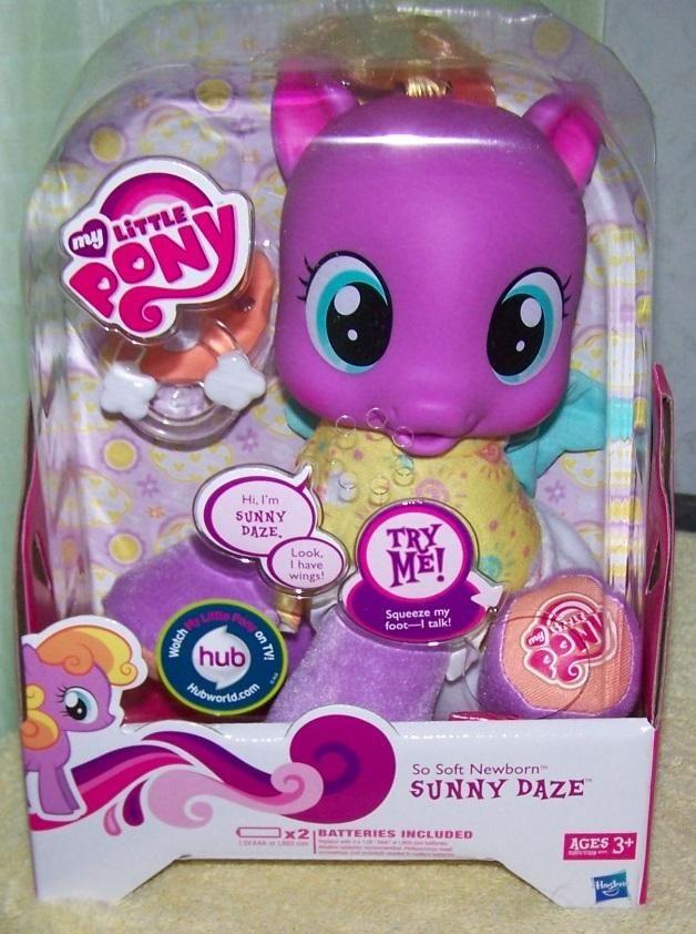 Friendship Is Magic So Soft Pony Newborn Sunny Daze My Little