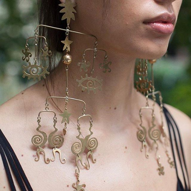 Mobile earrings for  kalmar official ss17  kalmar  sianevansjewellery 16056db32f10f