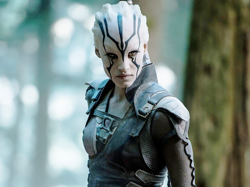 Too many spoilers revealed before star trek beyond 39 s - Jaylah sofia boutella ...