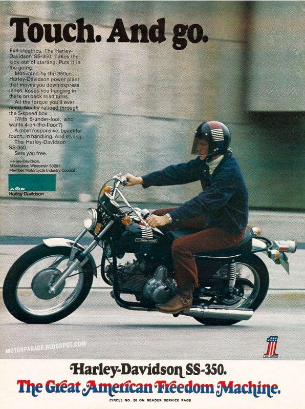 Harley Davidson AMF SS-350, USA, 1973