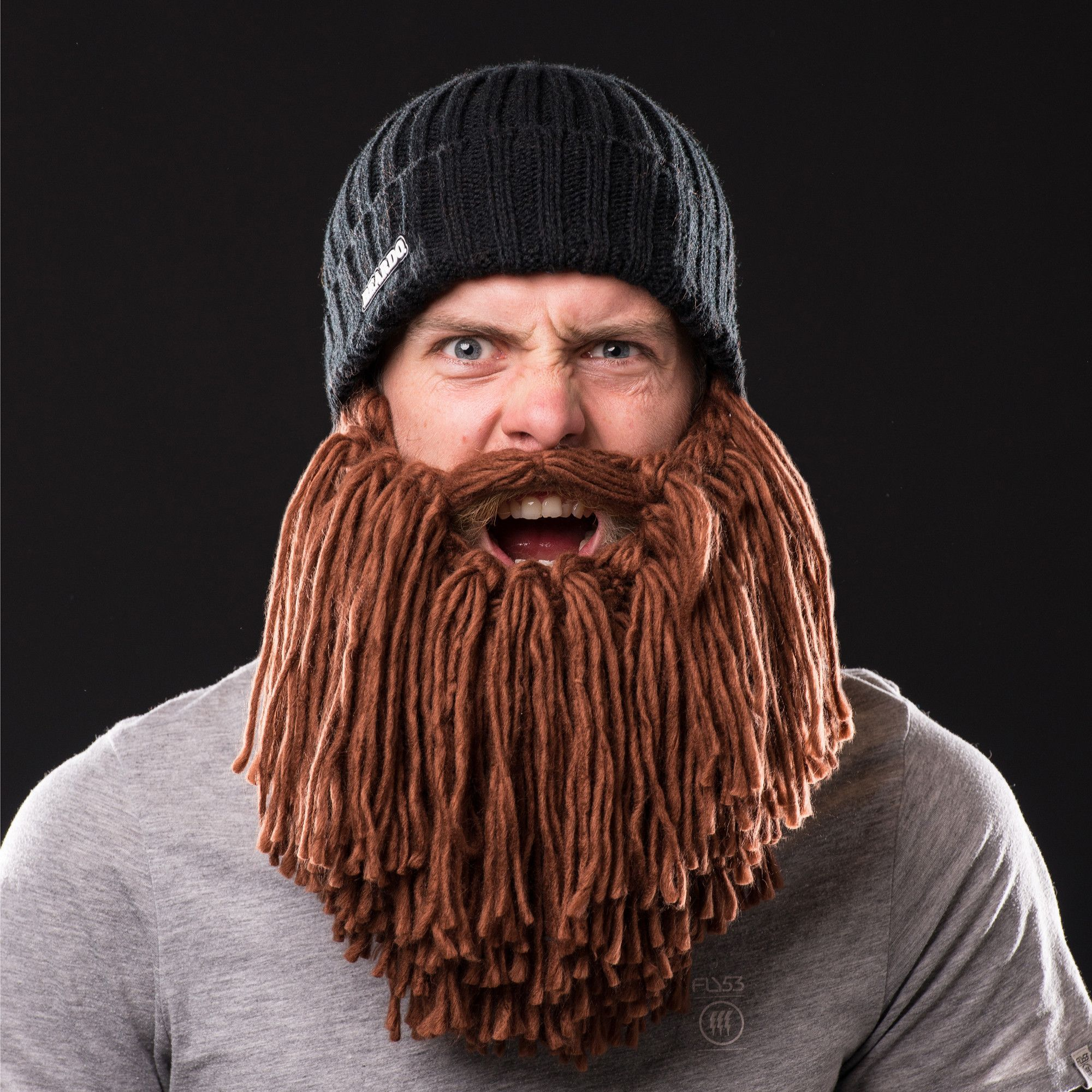 Official Vikings Hat with Beard | Products | Pinterest | Häkeln