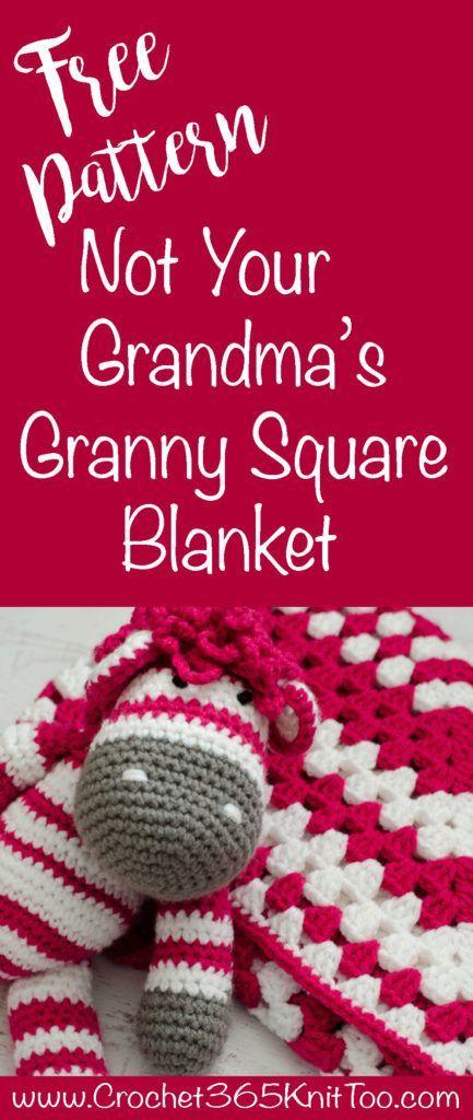Granny Square Baby Blanket Beautiful Crochet Crochet Granny And