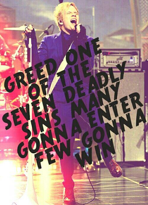 Patrick Stump - Greed - Lyrics