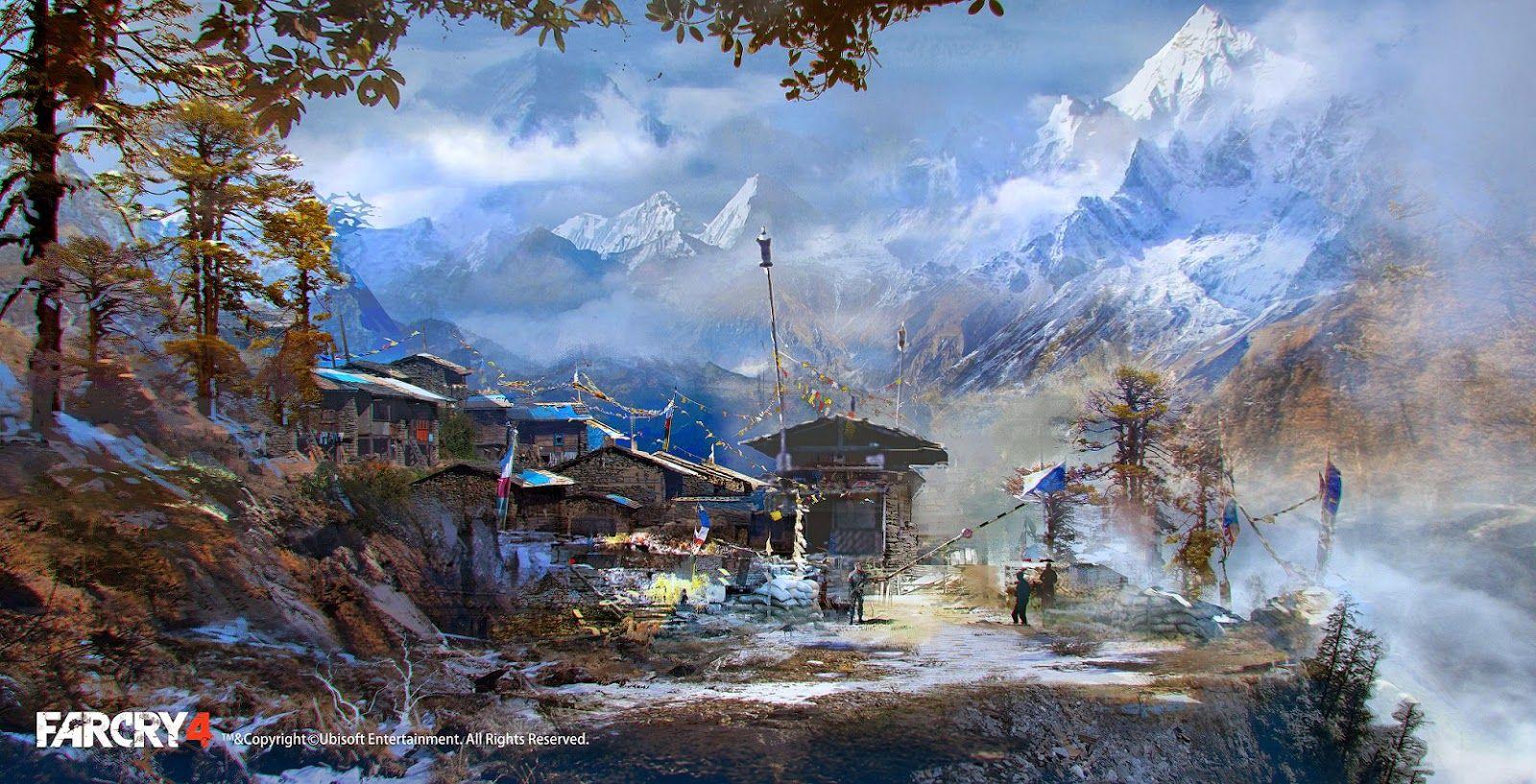 The Beautiful Art Of Far Cry 4 Concept Art World Game Concept Art Concept Art
