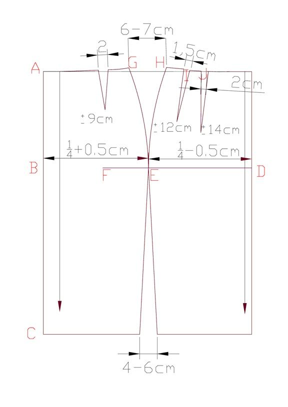 Fashion CAD Pattern Making - Free Sewing Pattern Download: How to