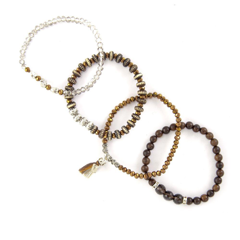 Chan Luu - Bronze Crystal Mix Stretch Bracelet Set, $105.00 (http://www.chanluu.com/bracelets/bronze-crystal-mix-stretch-bracelet-set/)