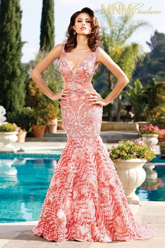 www.karenmillen.org Charbel Nader MNM Couture 7662 Evening Dress ...