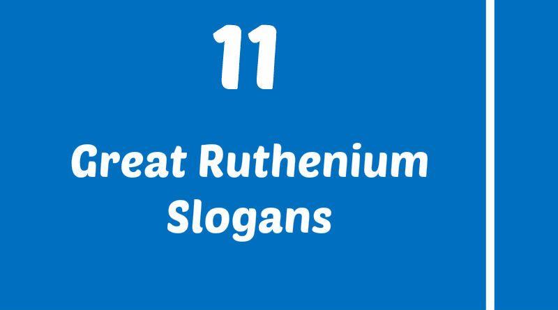 Ruthenium Slogans Element Slogans Pinterest Slogan And Project