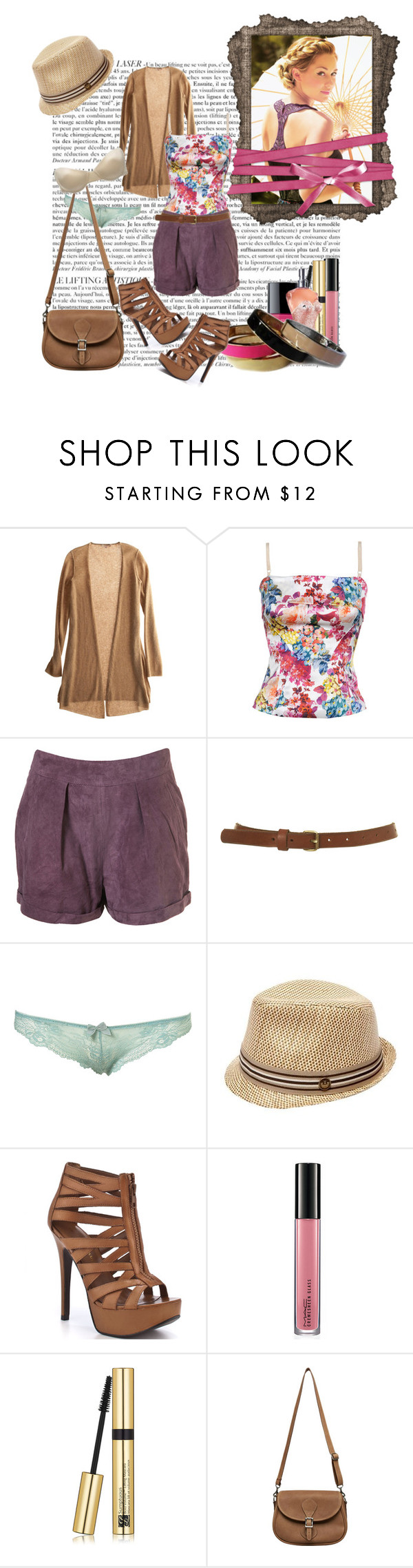 """""""can't make this over."""" by itsfaith ❤ liked on Polyvore featuring Calypso St. Barth, D&G, Topshop, Goorin, Chinese Laundry, MAC Cosmetics, Chanel, Estée Lauder, Jean-Paul Gaultier and J.W. Hulme Co."""