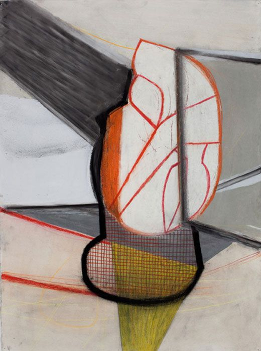 Amy Sillman, 'A Shape that Stands Up and Listens #1' 2012