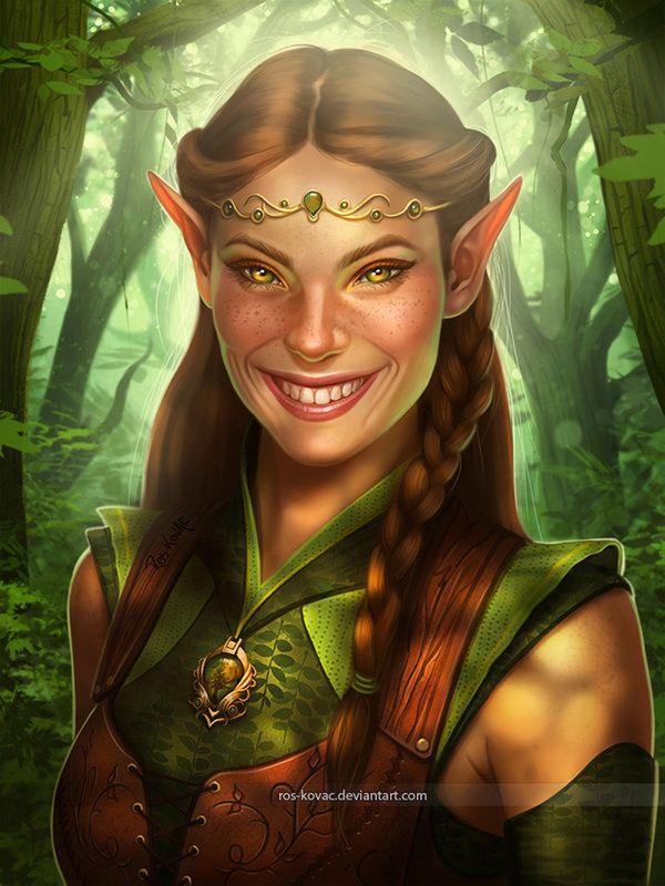 Pin on Elf, Wood Elf - Asrai