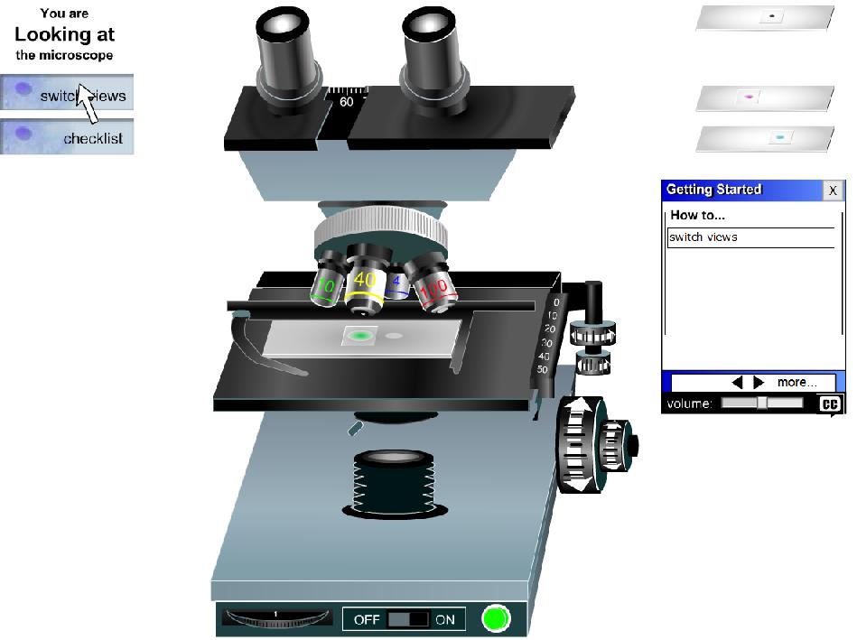 Microscopios virtuales Microscopio virtual, Microscopio