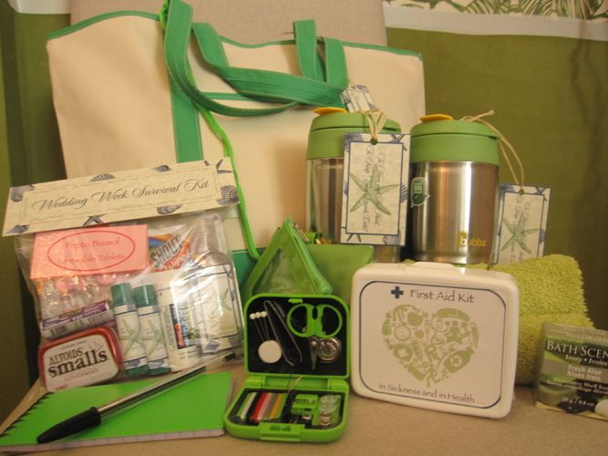 Destination Wedding Gift Bag Ideas: Destination Wedding Survival/Welcome Bags!! ....if Only I