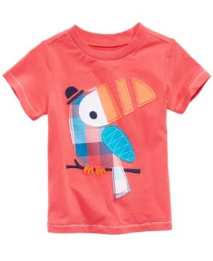 First Impressions Graphic-Print Cotton T-Shirt Baby Boys