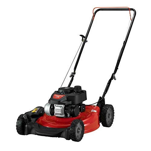 Craftsman Cmxgmam201104 21 In Lawn Mower 140cc Ohv Engine Push Mower For Small To Medium Yards Red In 2021 Cordless Lawn Mower Push Lawn Mower Mower