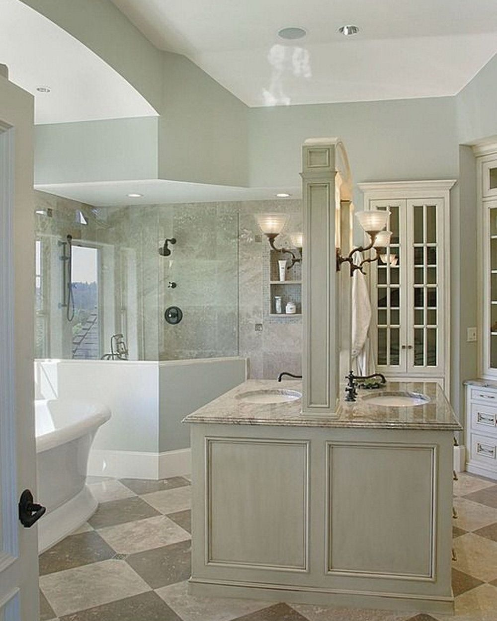 12 Luxurious Bathroom Design Ideas | Wall sconces, Marbles and ...