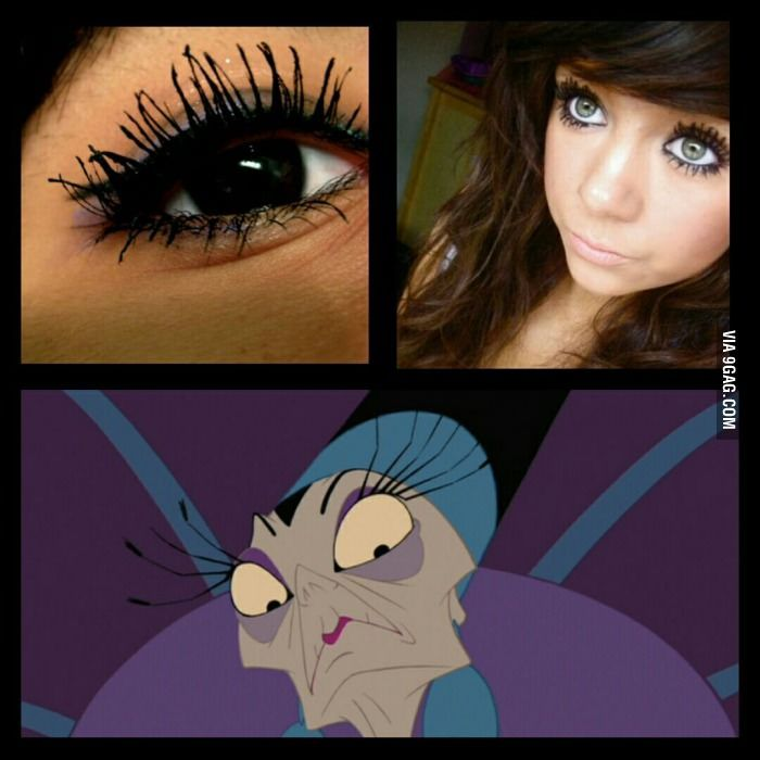 Girls With Eyelashes Like This You Look Like Yzma Just Dont