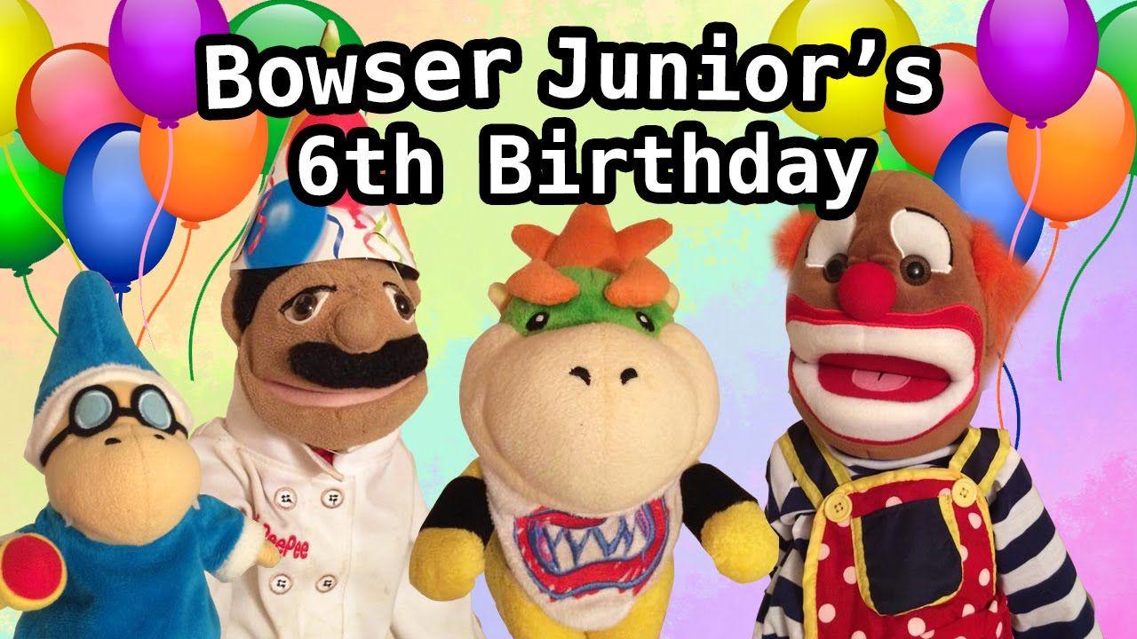 Sml Movie Bowser Junior S 6th Birthday Bowser Birthday