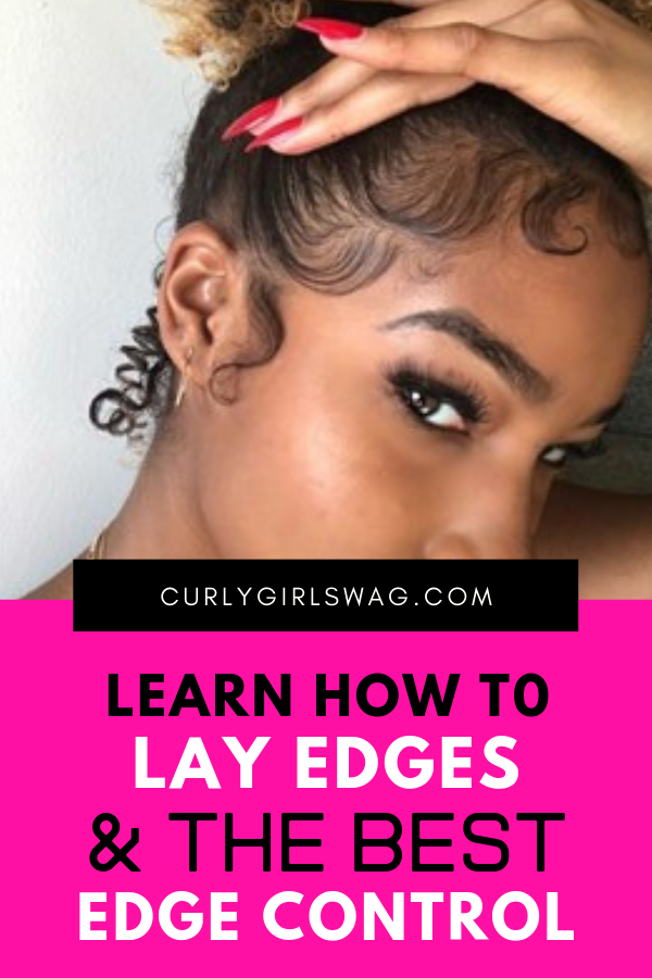 Baby Hairs Learn How To Lay Edges The Best Edge Controls Baby Hair Gel Edges Hair Best Edge Control