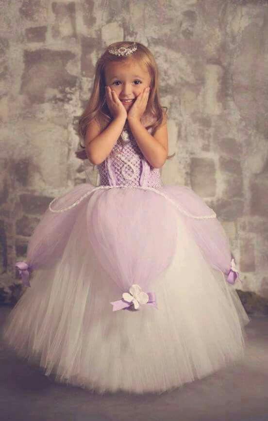 Un Vestido Original Para La Niña De Las Flores Sofía