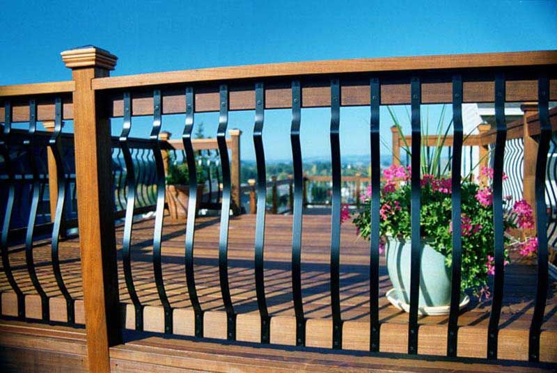 Best Wrought Iron Balusters Deck Balusters Deck Railings 400 x 300