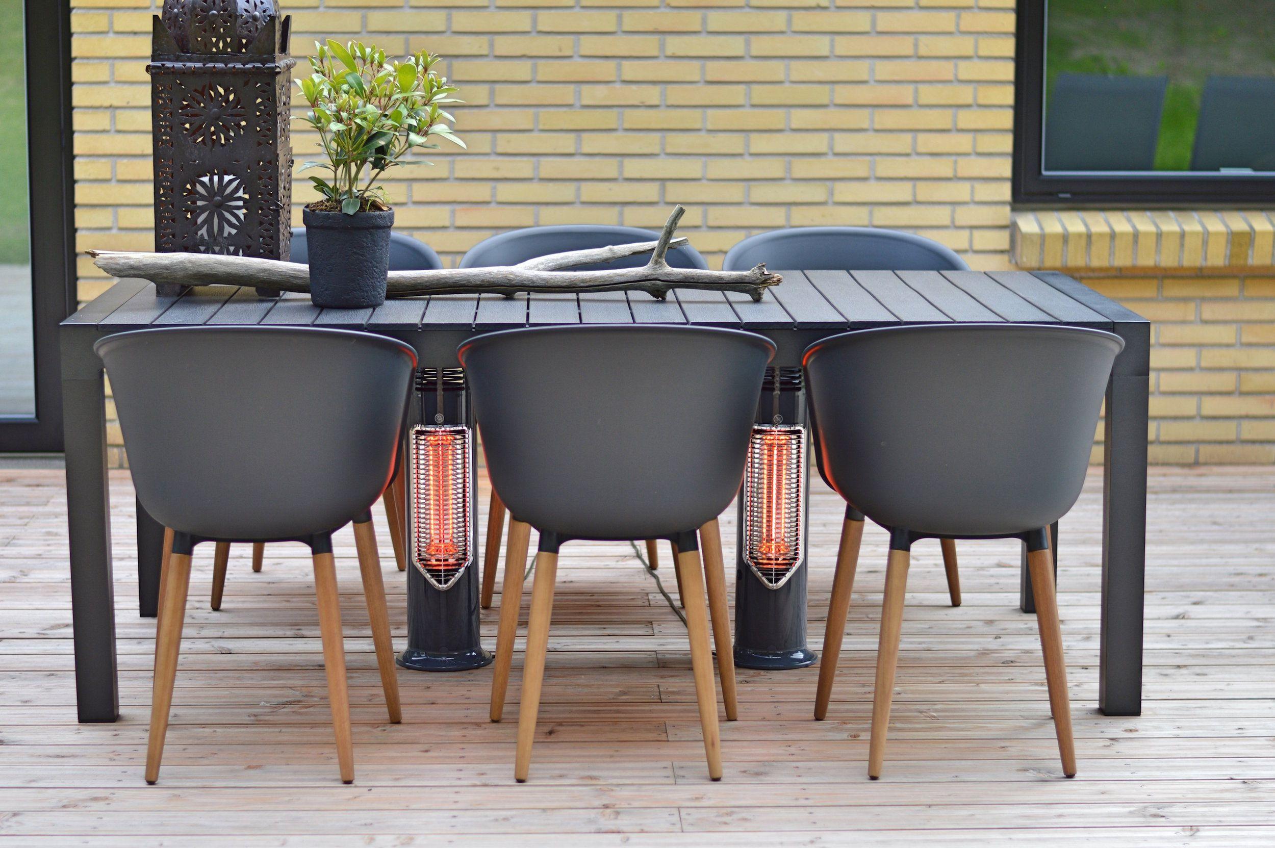 Mensa Heating Imus Under Table Outdoor Heater