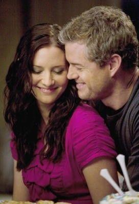Mark Sloan and Lexie Grey. Adorable couple!
