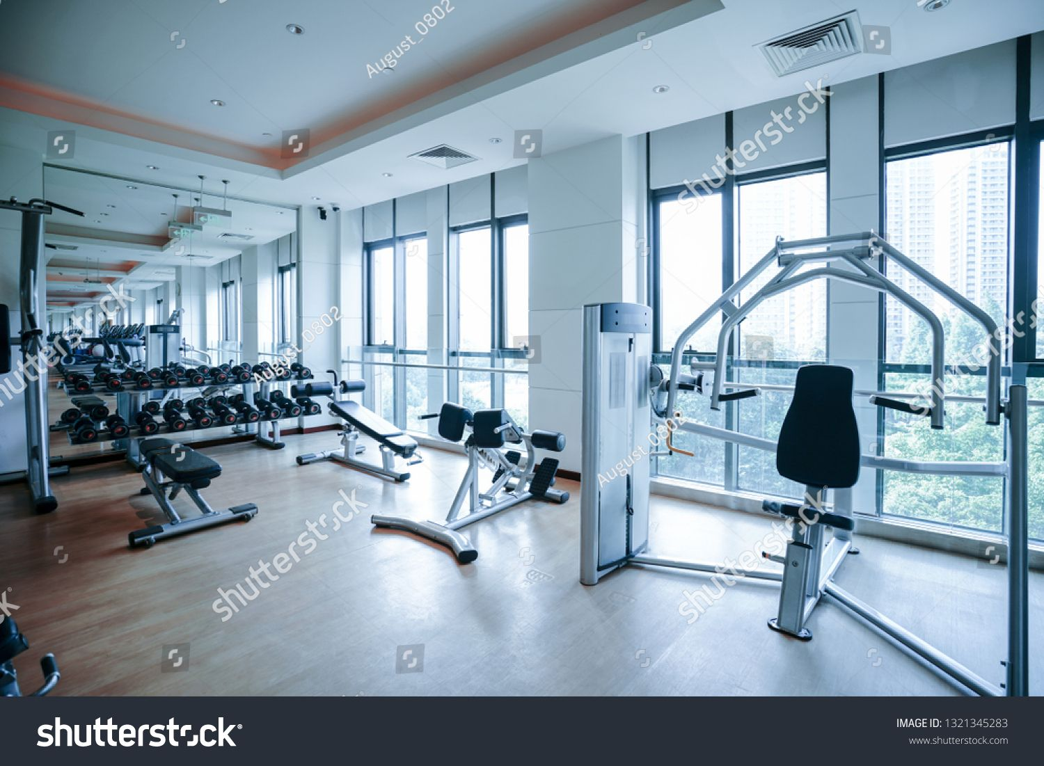 Modern Light Gym Sports Equipment In Gym Barbells Of Different Weight On Rack Ad Ad Gym Sports Modern Light Modern Lighting Gym