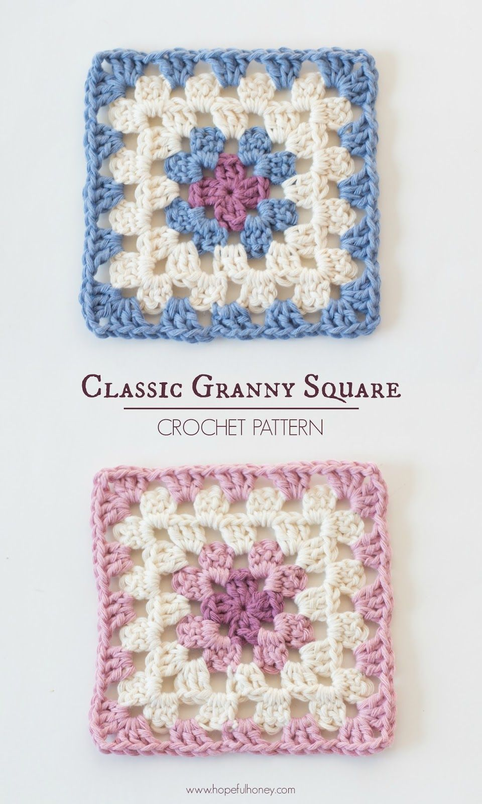 Classic Granny Square - Free Crochet Pattern | CRAFTS - Crochet ...