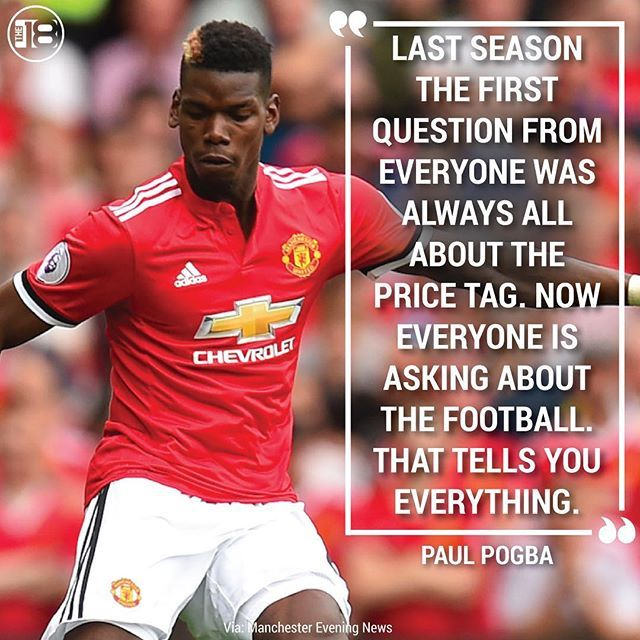 New Year New Season Pogba Is Ready Manchesterunited Manutd Pogba Soccer Quotes Soccer Paul Pogba