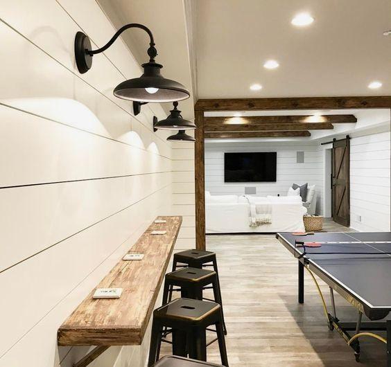 Photo of Create a Boho Basement Family Room via Online Interior Design