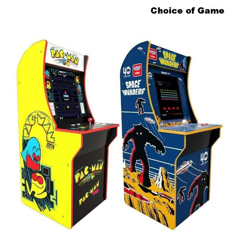 Retro Arcade Machine 70s Video Game Vintage Classic Stand