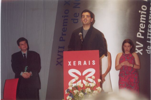 Xosé A. Neira Cruz. Gañador do Premio Merlín 2000