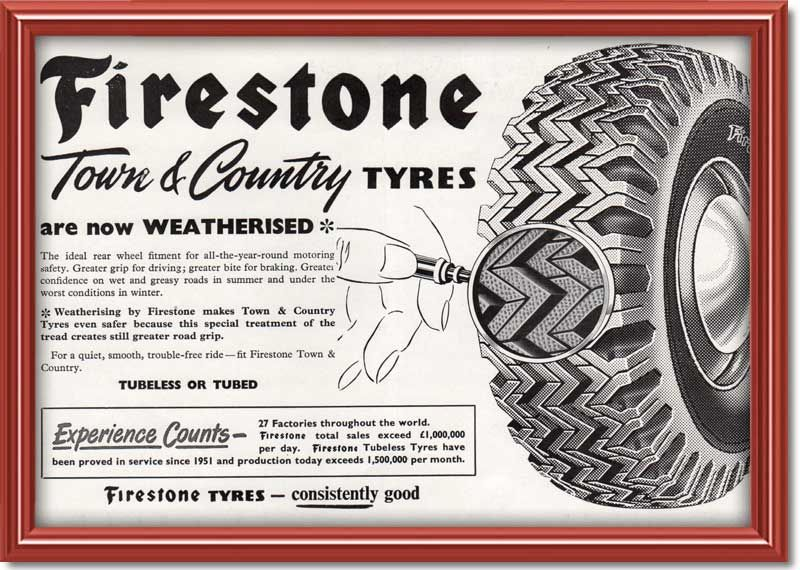 Do You Remember Town And Country Tyres They Were Chunky With A