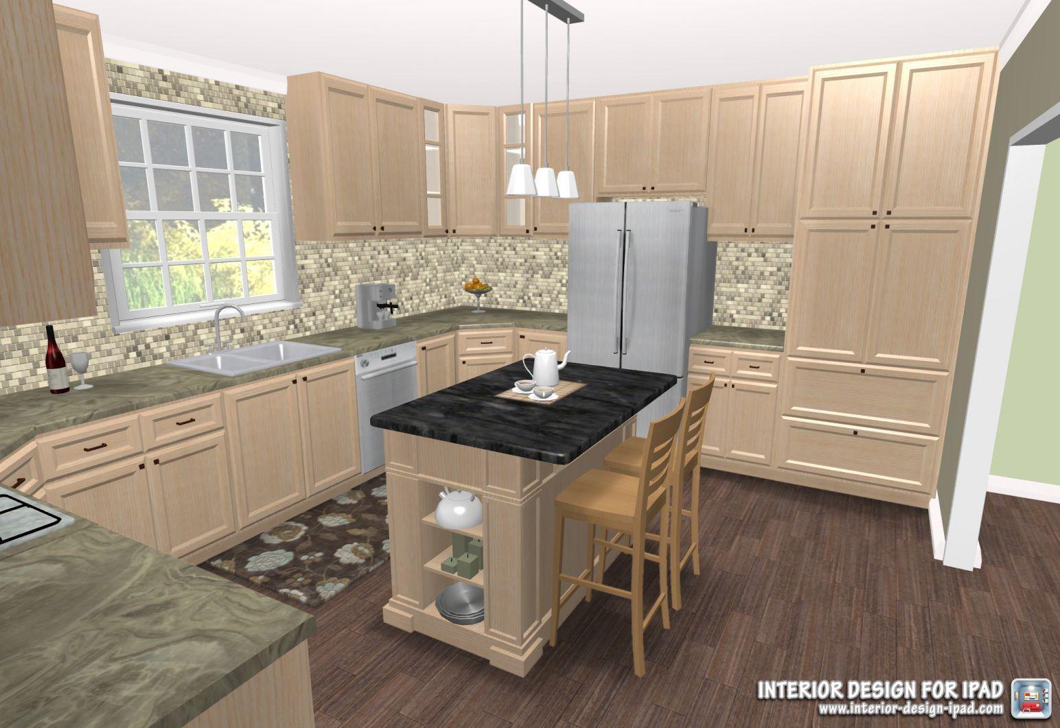 100+ Kitchen Remodel App - Custom Kitchen island Ideas Check more at ...