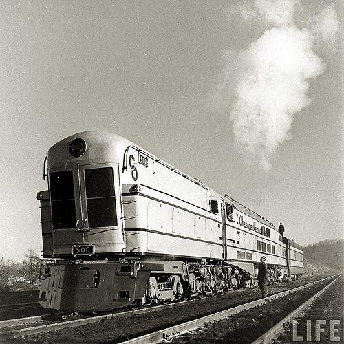 Traders World Ohio >> Chesapeake & Ohio Class M-1 Turbine in 2020 | Steam turbine, Train, Locomotive