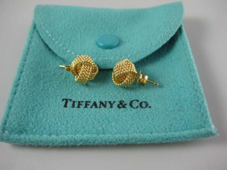 Tiffany Gold Knot Earrings Love These I Wear Them Constantly